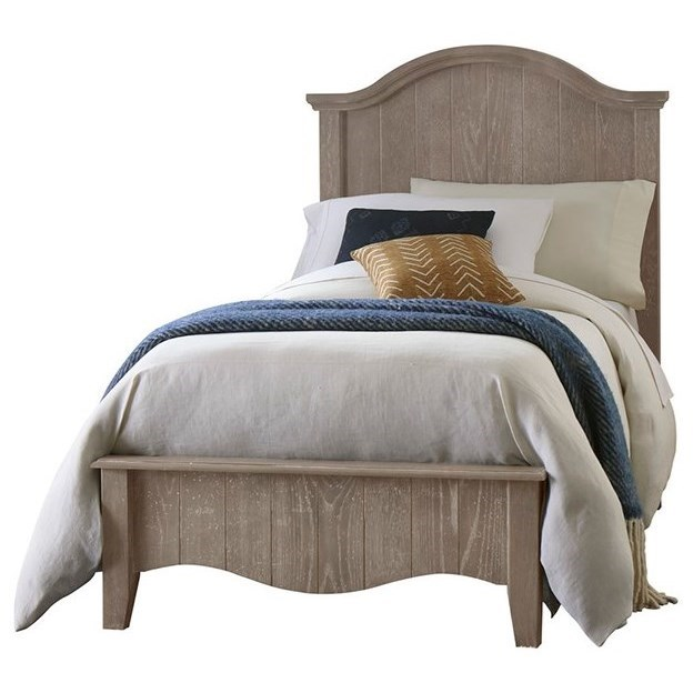 Casual Retreat Twin Arch Bed by Vaughan Bassett at Johnny Janosik