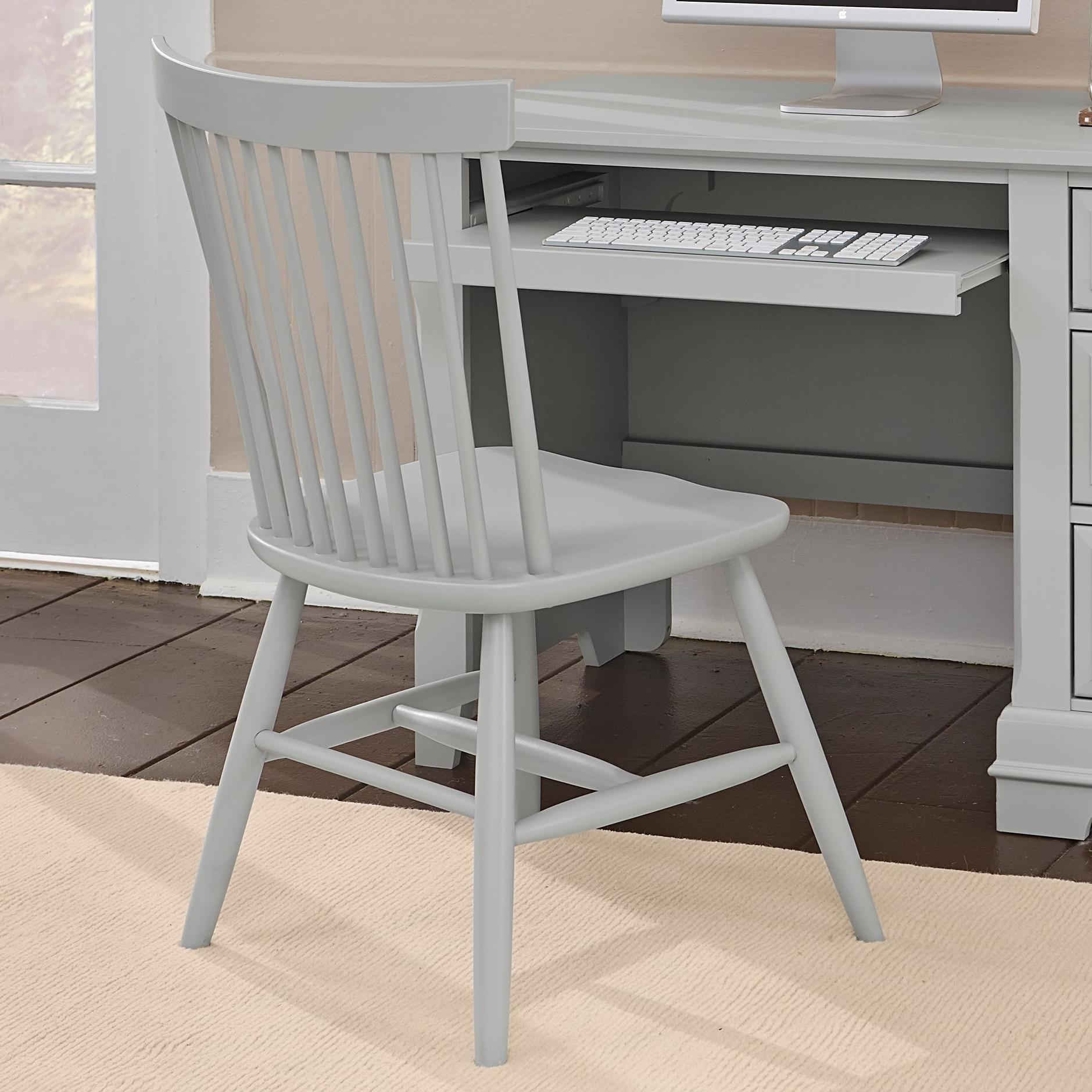 Cottage Desk Chair by Vaughan Bassett at Lapeer Furniture & Mattress Center