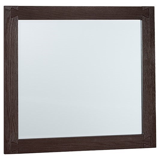 Dovetail  Landscape Mirror  by Vaughan Bassett at Northeast Factory Direct