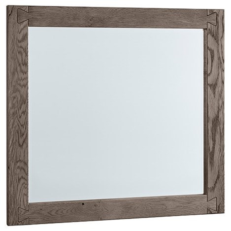 Dovetail Landscape Mirror  by Vaughan Bassett at Steger's Furniture