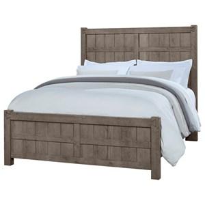 Queen Board and Batten Bed