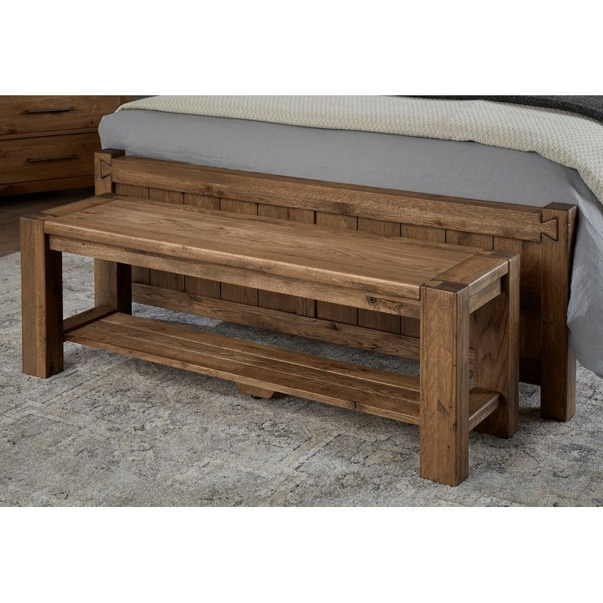 Dovetail  Accent Bench  by Vaughan Bassett at Northeast Factory Direct