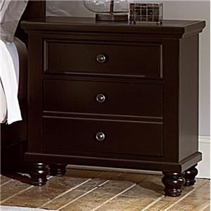 Vaughan Bassett Ellington Night Stand - 2 Drawers