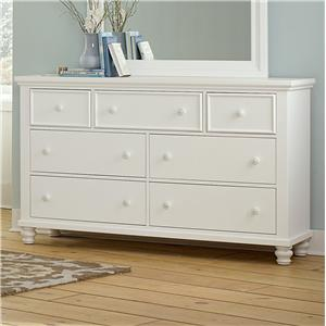 Vaughan Bassett Ellington Triple Dresser - 7 Drawers