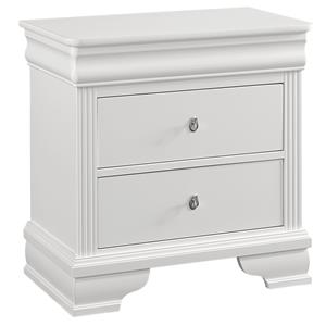 Louis Philippe Night Stand - 2 Drawers