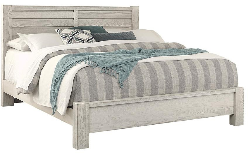 Highland Queen HORIZONTAL PLANK BED by Vaughan Bassett at Johnny Janosik
