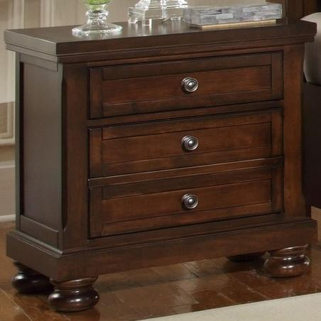 Reflections 2 Drawer Night Stand by Vaughan Bassett at Johnny Janosik