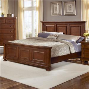California King Mansion Bed