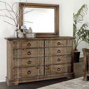 Dresser & Shadowbox Mirror
