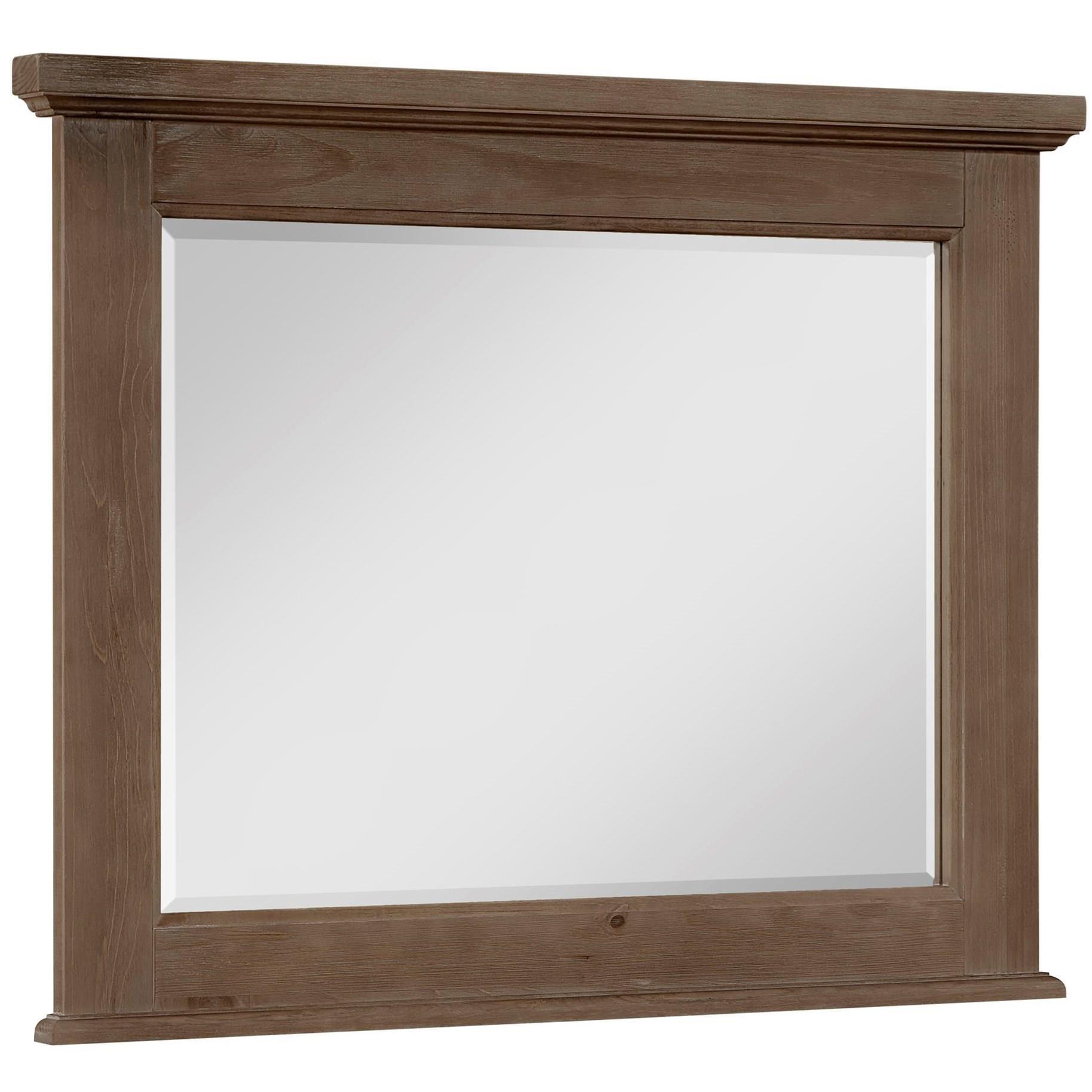 Sawmill Dresser Mirror by Vaughan Bassett at Northeast Factory Direct