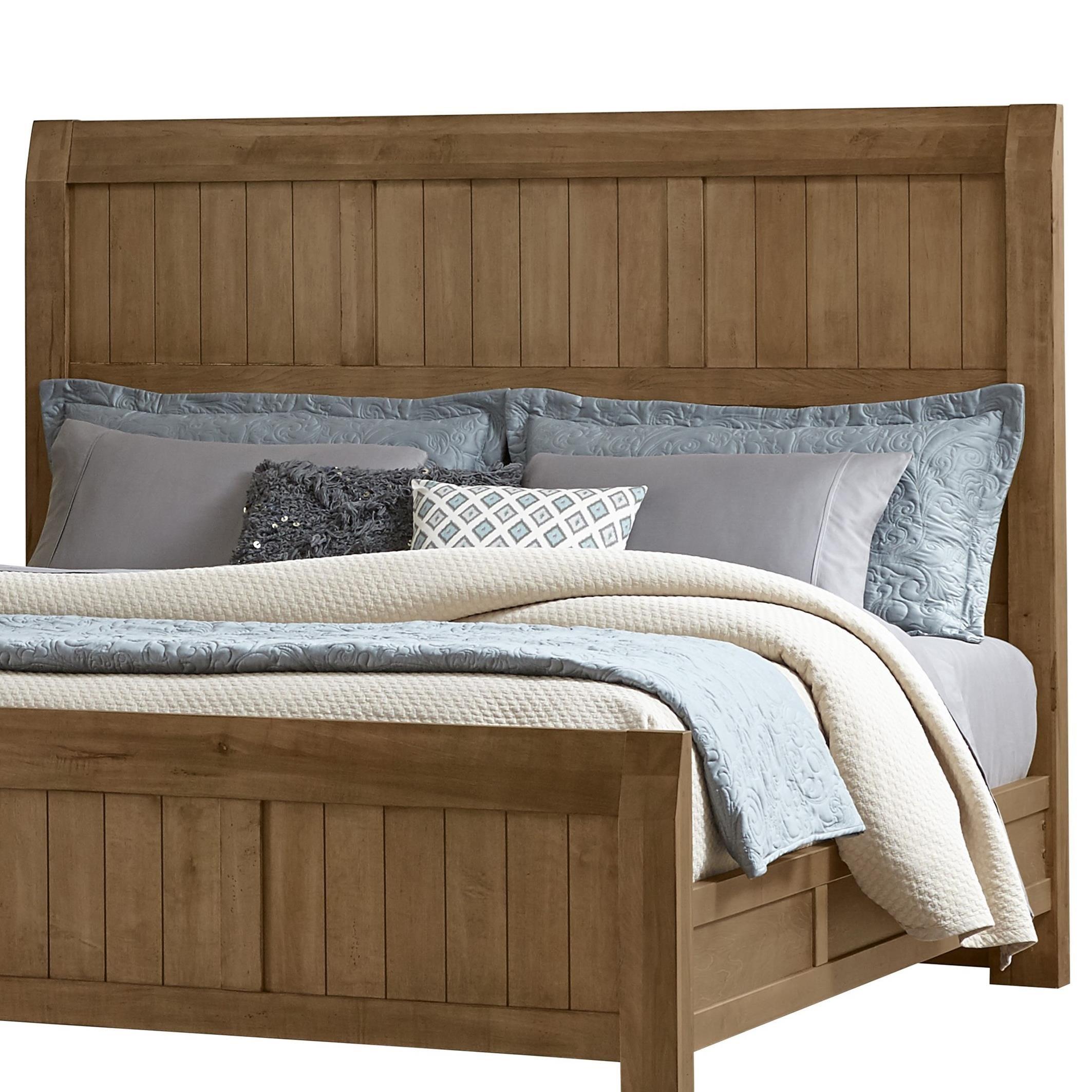 Timber Creek Queen Timber Headboard by Vaughan Bassett at Lapeer Furniture & Mattress Center
