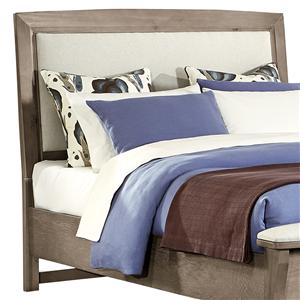 King/California King Upholstered Headboard (Base Cloth Linen)