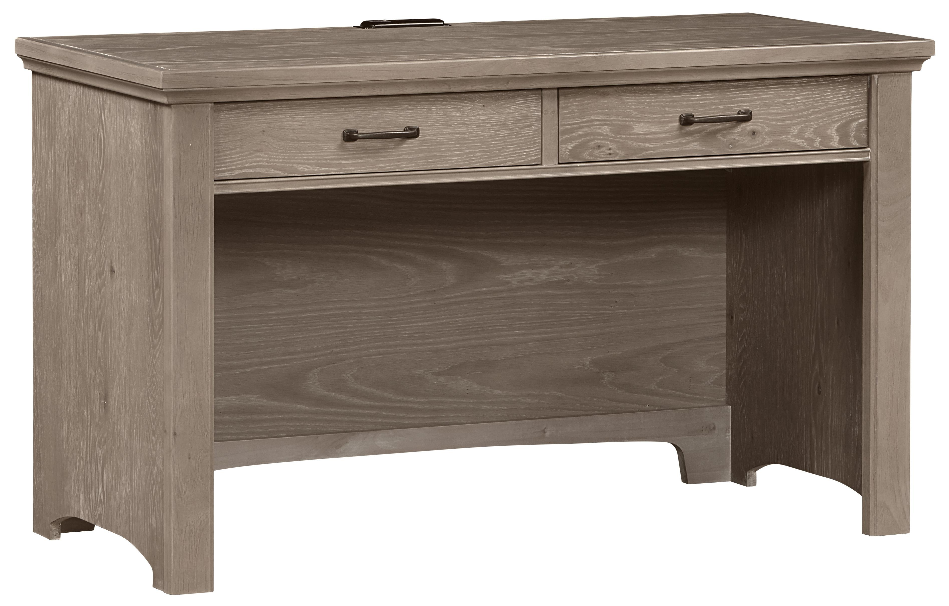 Transitions Laptop Desk - 2 Drawers & Power Pack by Vaughan Bassett at Lapeer Furniture & Mattress Center