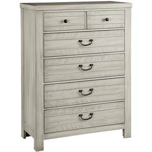 Casual 5 Drawer Chest