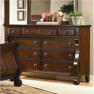 Vaughan Furniture Georgetown 9 Drawer Dresser