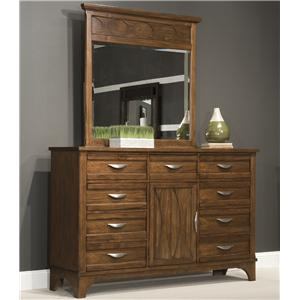 Vaughan Furniture Radiance Dresser and Mirror Combo