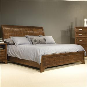 Vaughan Furniture Radiance King Sleigh Bed