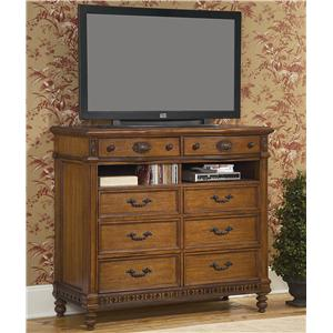 Vaughan Furniture Southern Heritage 8 Drawer Media Chest