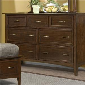 Vaughan Furniture Stanford Heights Dresser with 7 Drawers