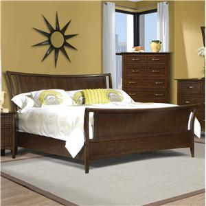 Vaughan Furniture Stanford Heights Queen Sleigh Bed