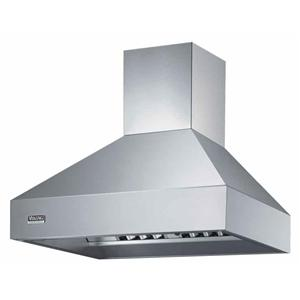 "Viking Professional Series 48"" Wall-Mount Chimney Hood"
