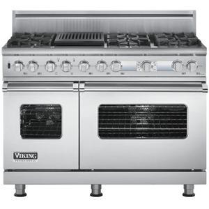 "Viking Professional Series 48"" Freestanding Dual Fuel Range"