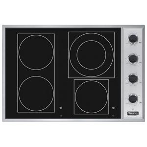 "Viking Professional Series 30"" Built-In Electric Cooktop"
