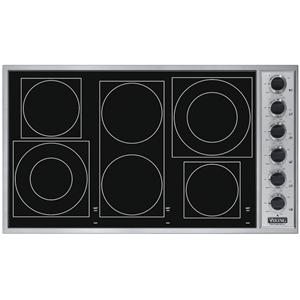 "Viking Professional Series 36"" Built-In Electric Cooktop"