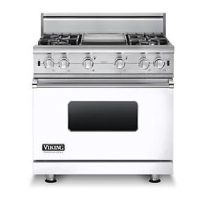 "Viking Professional Series 36"" Gas Sealed Burner Range"