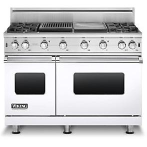 "Viking Professional Series 48"" Freestanding Propane Gas Range"