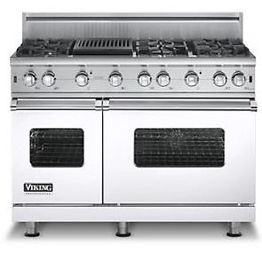 "Viking Professional Series 48"" Freestanding Natural Gas Range"