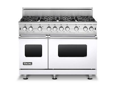 "Professional Series 48"" Sealed Burner Gas Range by Viking at Fisher Home Furnishings"