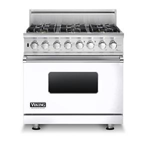 "Viking Professional Series 36"" Freestanding Propane Gas Range"
