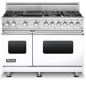 """Viking Professional Series 48"""" Freestanding Natural Gas Range"""