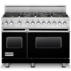 """Professional Series 48"""" Freestanding Gas Range by Viking at Fisher Home Furnishings"""