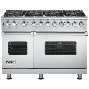 """Viking Professional Series 48"""" Freestanding Gas Range"""