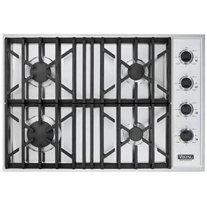 "Viking Professional Series 30"" Built-In Natural Gas Gas Cooktop"