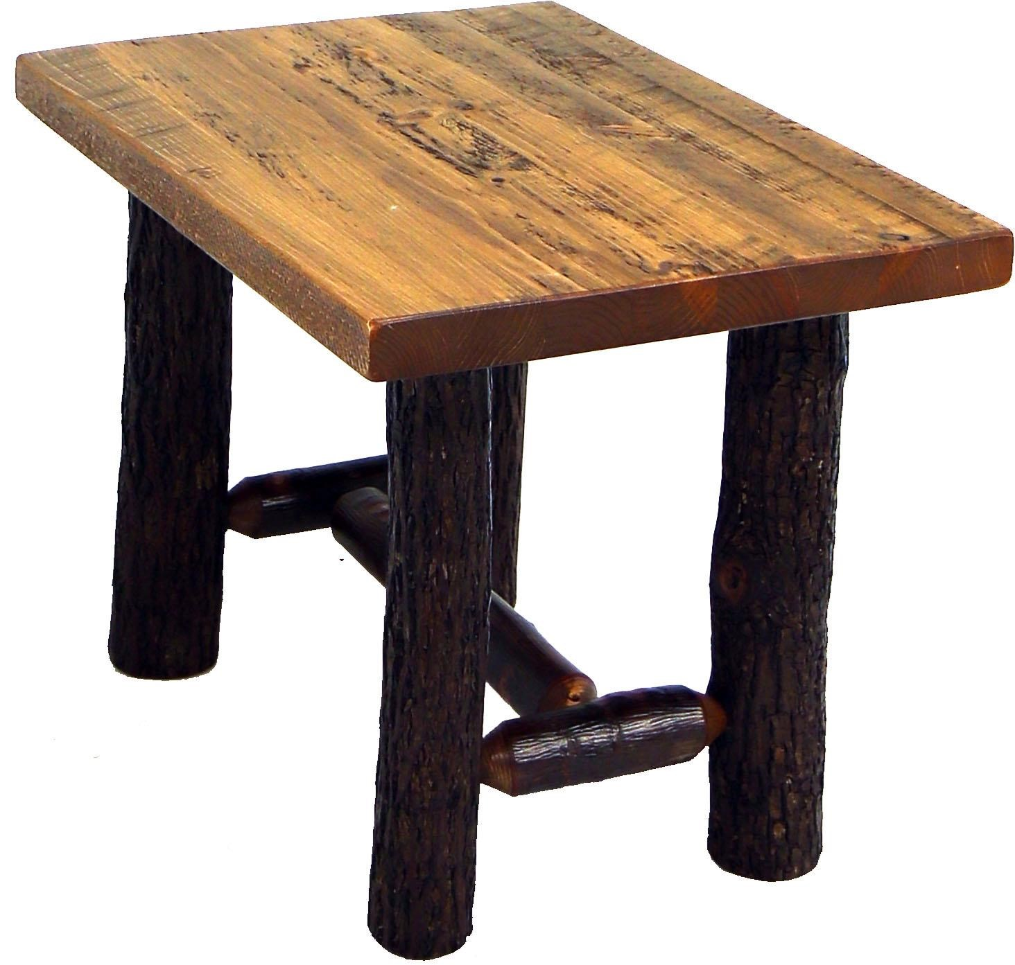 Sawtooth Hickory Sawtooth Hickory End Table at Becker Furniture