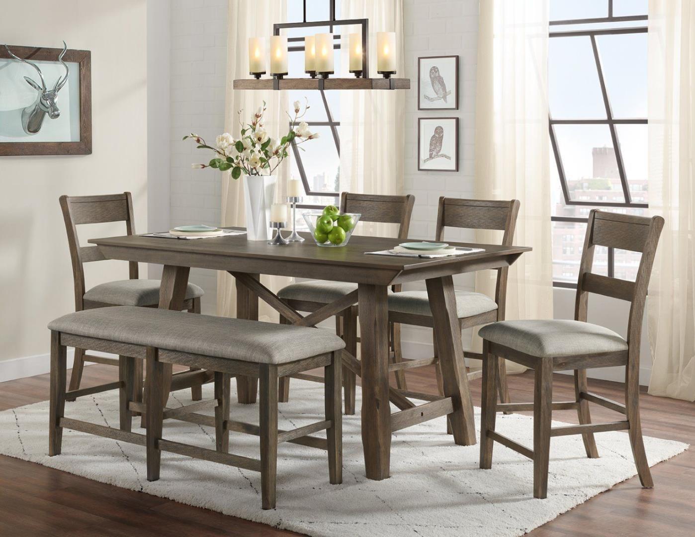Vilo Dining  6-Piece Dining Set with Bench at Ruby Gordon Home