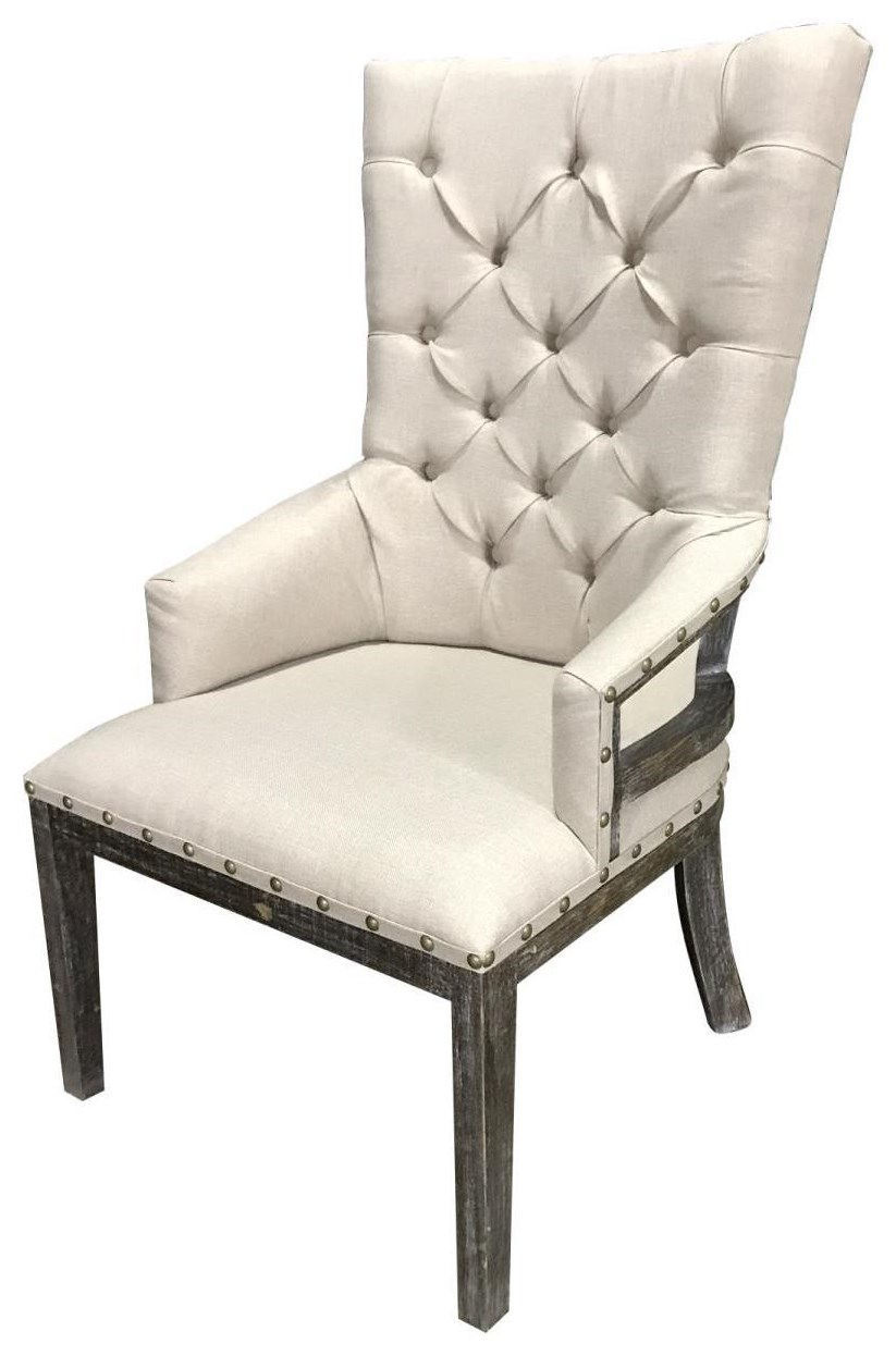 Harp Dining Arm Chair by Vintage at Wilcox Furniture
