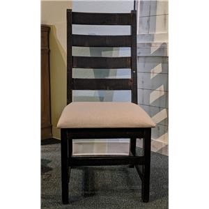 Dining Side Chair in Nero Black Finish
