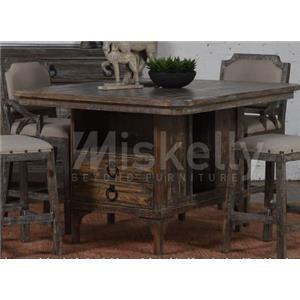 Solid Wood Pub Table
