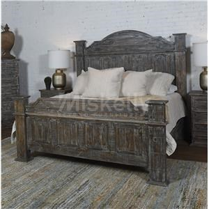 Solid Wood King Poster Bed