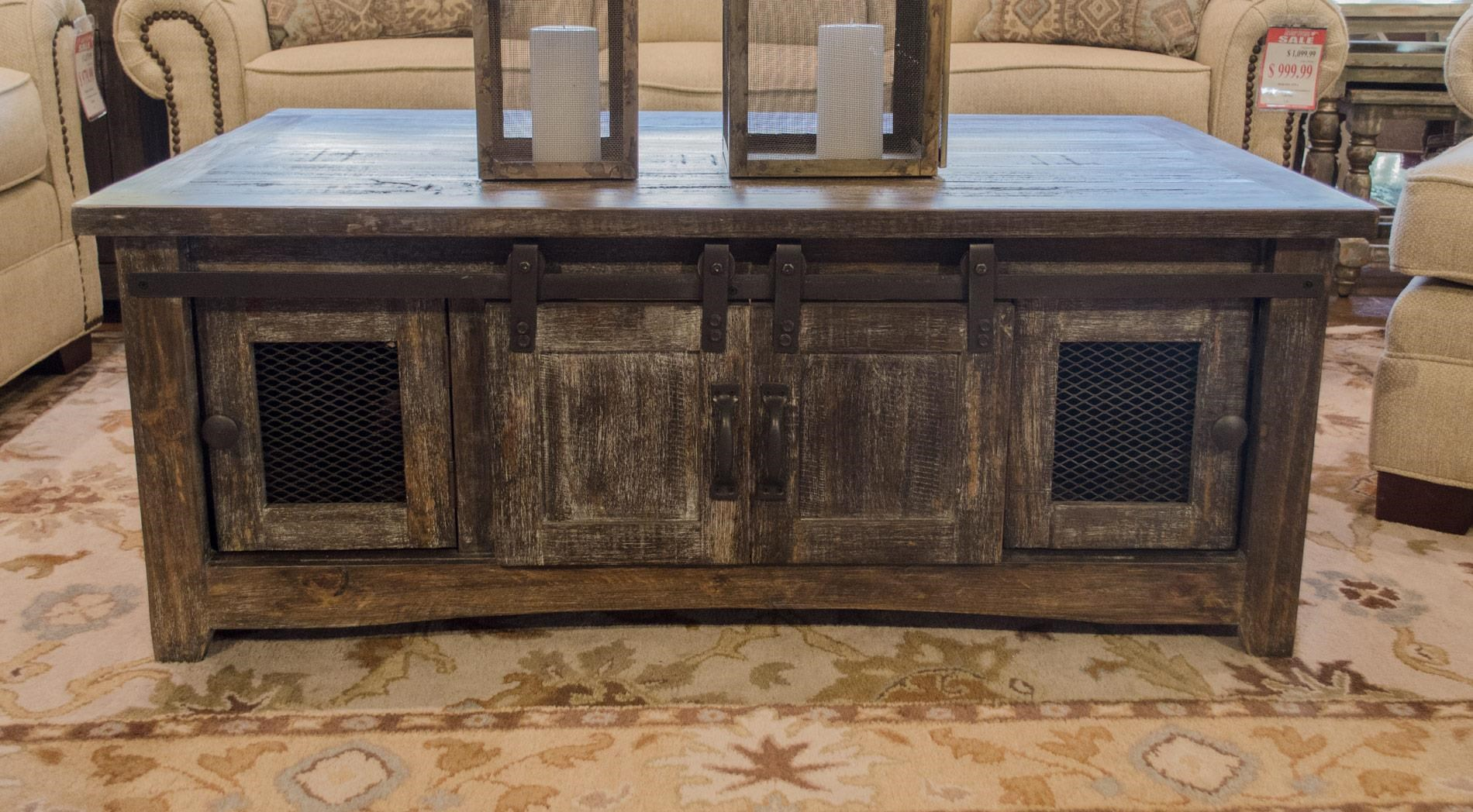 Barnwood Cocktail Table