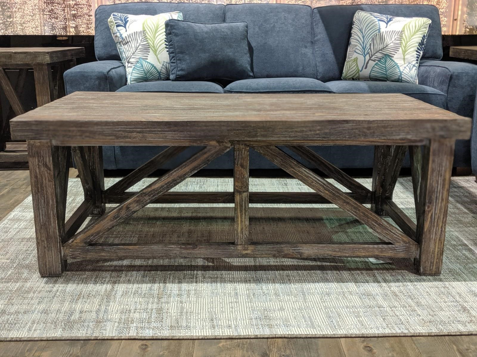 Spencer Collection Coffee Table by Vintage at Wilcox Furniture