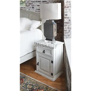 Solid Wood 1 Drawer Nightstand