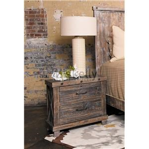 Solid Wood Nightstand