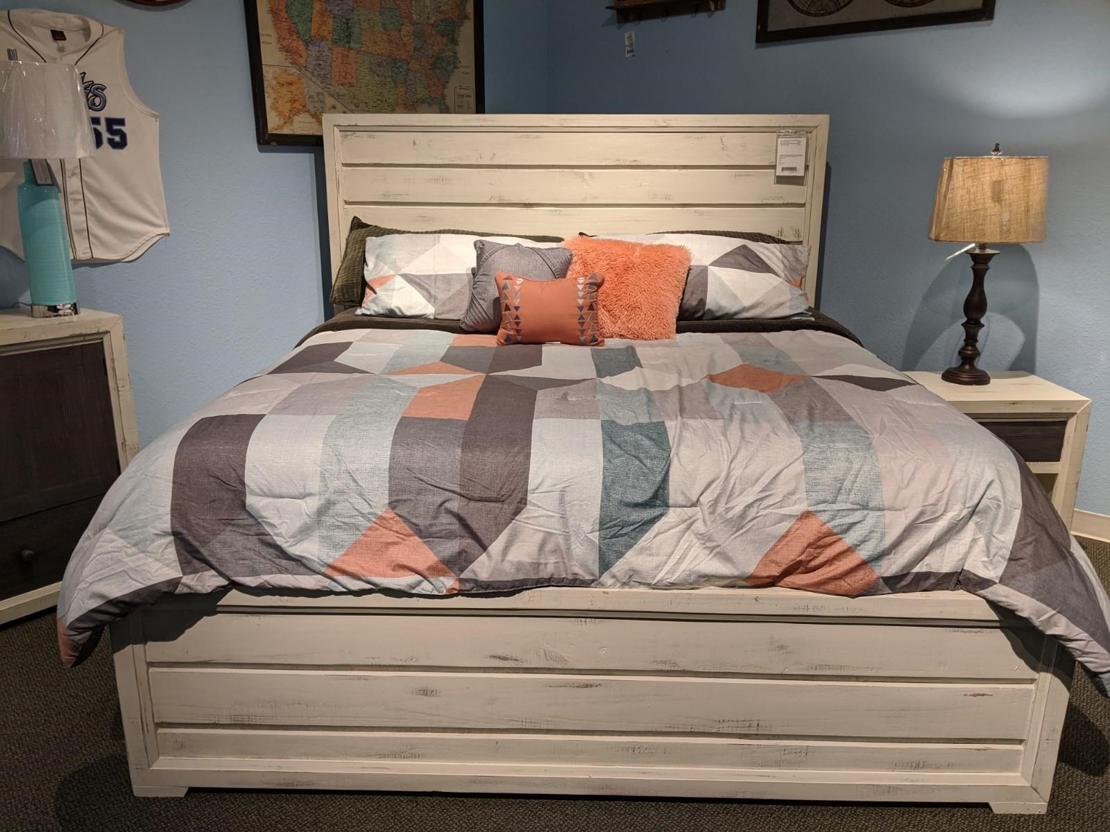Windjammer King Bed by Vintage at Wilcox Furniture