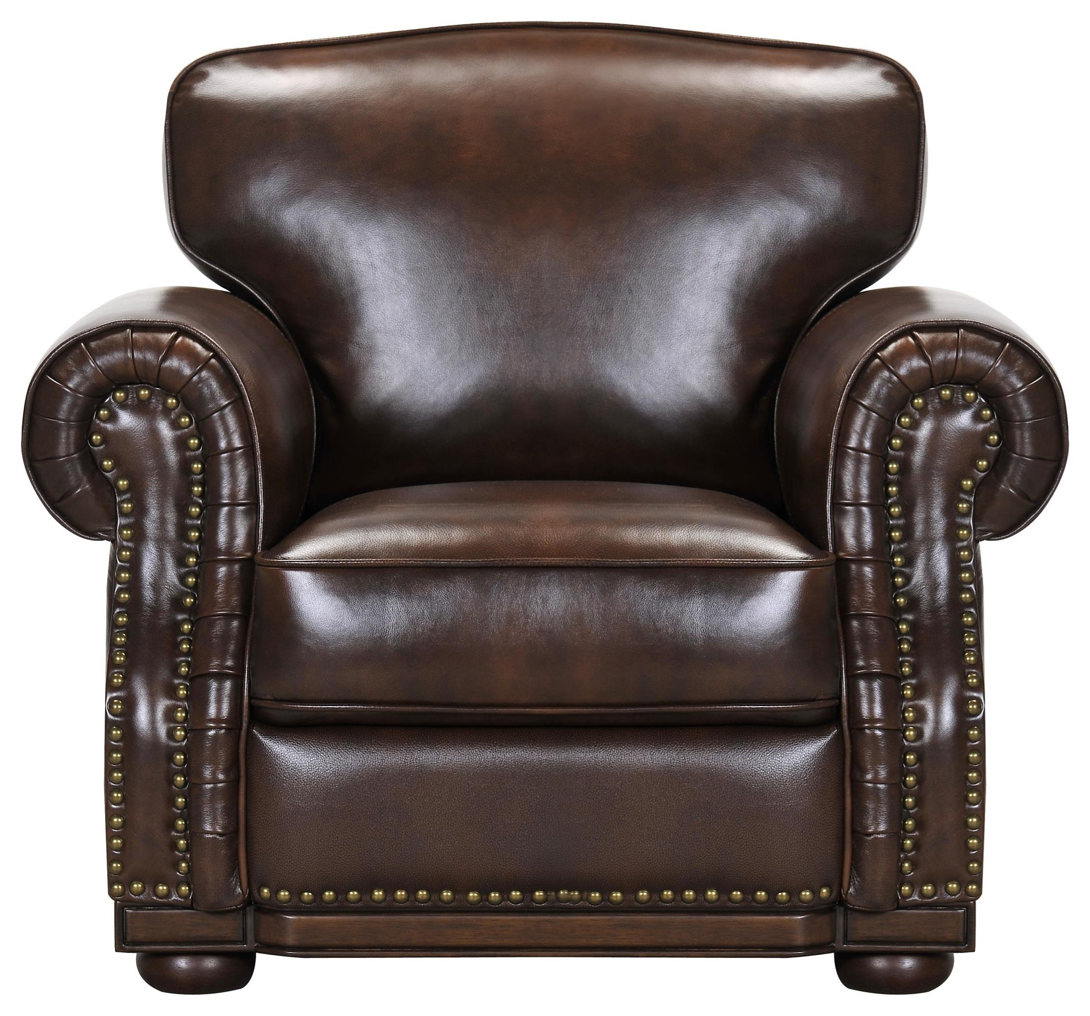 3110 Leather Match Chair by Violino at Darvin Furniture
