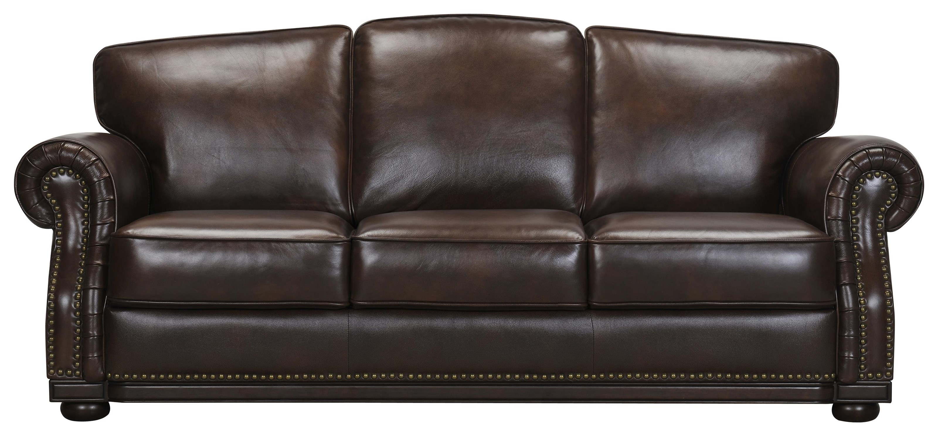 3110 Leather Match Sofa by Violino at Darvin Furniture